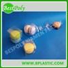 Macaron plastic folding box food grade box with clear window