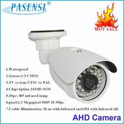 Hot Sale! ir vandalproof small dome 960p indoor ahd camera with 24pcs ir led array led 50m ir distance dome ahd camera