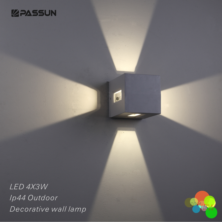Surface Mounted Decorative Outdoor Led Wall Light 4 3w Buy Lights