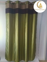 2015 new design home textile products window curtain luxury dupion silk curtain