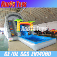 giant pvc inflatable water slide for adult,big water slides for sale