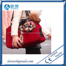 600D oxford colorful pet carrier bag that waterproofing
