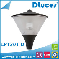 Free Sample 15W 30W 40W New Designed Outdoor LED garden light with die cast aluminum garden lamp