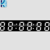 China Best Factory OEM Qualified 6 digit 7 segment led display