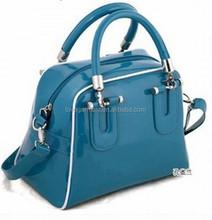 Fashion popular brand pu women hand bag tote bag