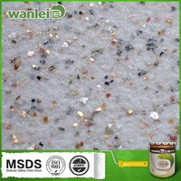Natural texture and stone texture wall paint for building