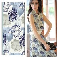 Digital Print Polyester Spandex Swimwear Fabric! Vegetable Print Design!