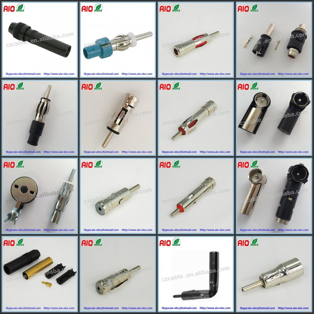 Plug Type Connector Assembly Type Din Male Plug
