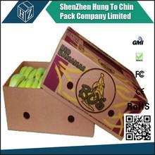 5-layers high quality custom banana carton box