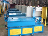 Immerse type of stainless steel scourer Wire Drawing Machine/scourer making machine