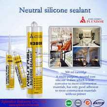 Neutral Silicone Sealant china supplier/ silicone sealant materials use for furniture/ fire rated silicone sealant