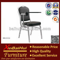 BH-G83106 Hotel Meeting Chair Conference Chair With Writing pad/Banquet chair with writing board