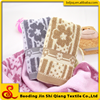 chinese style jacquard flower home design towels wholesale