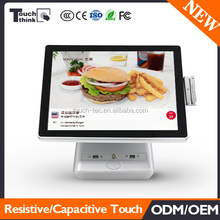 15 inch Touch screen pos terminal/pos system/epos at lowest price with card reader