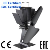 Ecofan eco fan heat powered wood stove fan EF-800 Black 2015