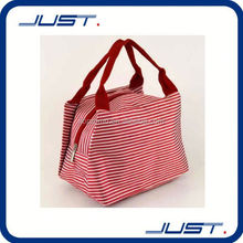 Low MOQ new design promotion oxford cooler lunch bag for ladies