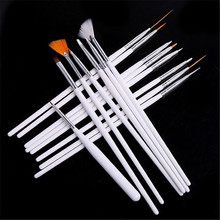 15pcs Painting Polish Brush Dotting Drawing Tools Set Nail Art Gel Design Pen