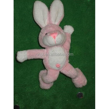 Plush cute rabbit magnet toy