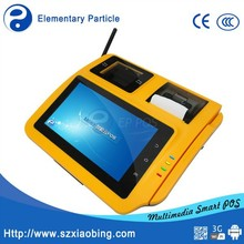 EP M680 Android pos terminal support 3G/WiFi/RFID reader/Barcod scanner/build-in thermal printer/PSAM with rechargeable battery