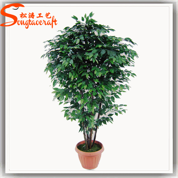 Ext rieur int rieur en pot artificielle ficus arbre for Arbres artificiels interieur