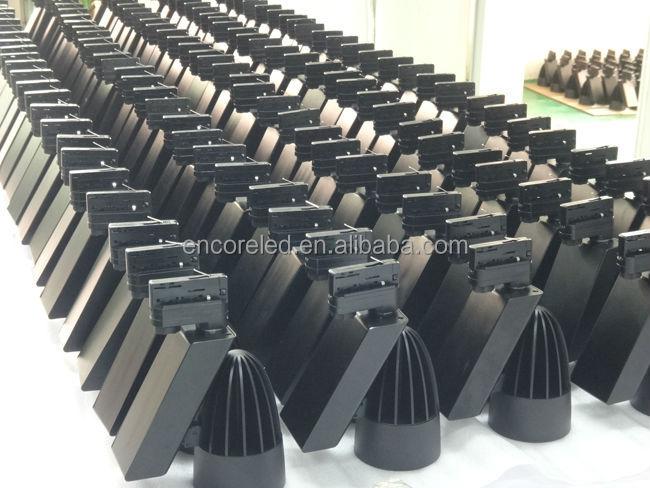 4 와이어 레일 트랙 조명 시스템, 쇼룸 230v dimmable 주도 트랙 조명 ...