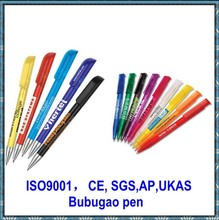 Custom pen with pen logo from Bubugao pen making