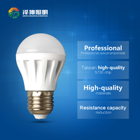Plastic LED Bulb Lamp free samples LED Bulb Light 3W LED Bulb E14 E27 B22 lampada de led