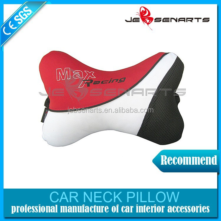 Oem bone shape car seat neck pillow 100 polyester car neck pillow buy neck pillow car neck