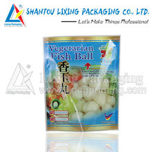 Vegetarian fish ball packaging