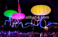2014 new design inflatable glowing jellyfish balloon for branding, promotion