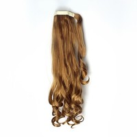 Hot Sale Wrap Around Pony Synthetic Hairpiece Hair Extension Wave 5 Colors