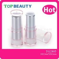 TL2805- Wholesale Hot Sale Cosmetic Packaging Plastic Clear Caps Lipstick