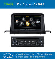 """7"""" In Dash Car Multimedia GPS for Citroen C3 with Gps Navi,3G,Wifi,A8 Chipset ,Bluetooth,Ipod,Free map Support DVR,DVB-T"""