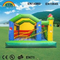 Inflatable indoor playground air bouncer inflatable trampoline