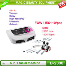 B-2008 wholesale cheap 5 in 1 beauty care massager