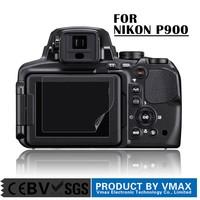 Manufacture Guangzhou !! Super Clear Anti glare digital camera screen protector for Nikon Coolpix P900