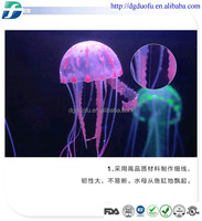 2015 year silicone jellyfish,led jellyfish aquarium,jellyfish products
