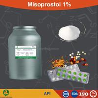 Supply High quality Misoprostol 1% powder, price Misoprostol