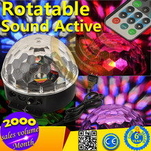 2015 Top Popular 18W Sound Activated LED Disco Light for Sale