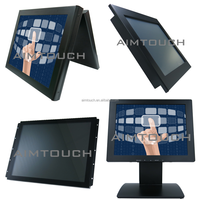 10.4 inch 4:3 wall mount bracket Resistive touch screen 1280x1024 for Point of sale machine