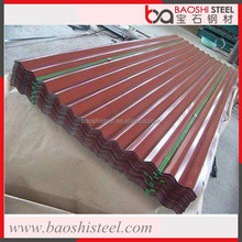 Baoshi Steel cheap anticorrosion heat proof 28 gauge roof tiles