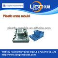 de alta precisión de moldes de plástico molde de la fábrica de cajas de leche china del molde
