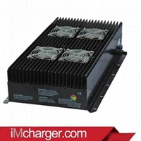High power smart battery charger 48 volt 100 amp for Summit electric vehicle