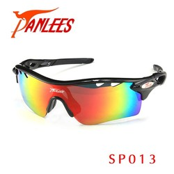 Panlees Eyewear Wholesale Night Vision Colorful Shooting Riding Cycling Glasses Outdoor Sport Motorcycle Polarized