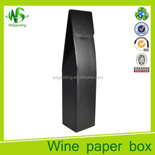 Factory price single bottle wine boxes accept OEM & ODM