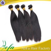 Fashion soft pure raw unprocessed virgin indian cheap weave hair online