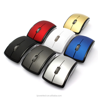 Promotion Business gift Foldable 2.4g wireless mouse