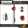 Drop forged steel 3t single speed electric chain hoist