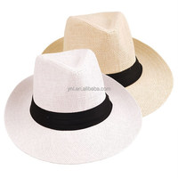 2015 Hot Sell Cheap Handwoven Paper Straw Panama Hat