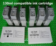 With 130ml 6 color ink tank for canon 500 510 compatible ink cartridge